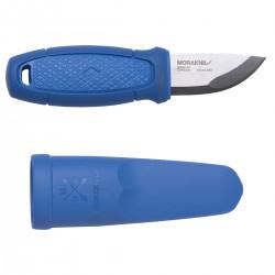 Нож Morakniv Eldris, нержавеющая сталь, цвет синий, с ножнами