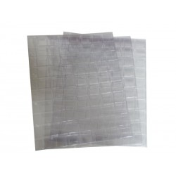 Лист вертикальный для монет 200х250 мм на 70 ячеек 18*24 мм, с клапанами