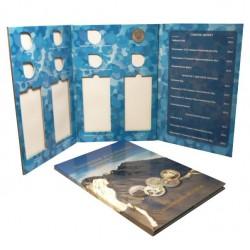 Альбом-планшет под 25-рублёвые монеты России 2011 - 2014 гг