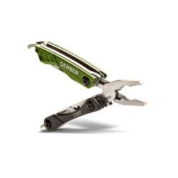 Мультитул Gerber Outdoor Dime Micro Tool, зеленый, блистеp