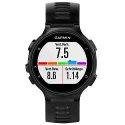 Спортивные часы FORERUNNER 735 XT HRM-Run черно-серые