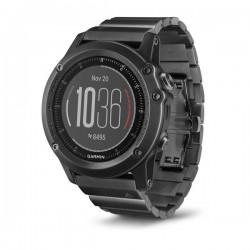 Спортивные часы FENIX 3 SAPPHIRE HR с металлическим браслетом